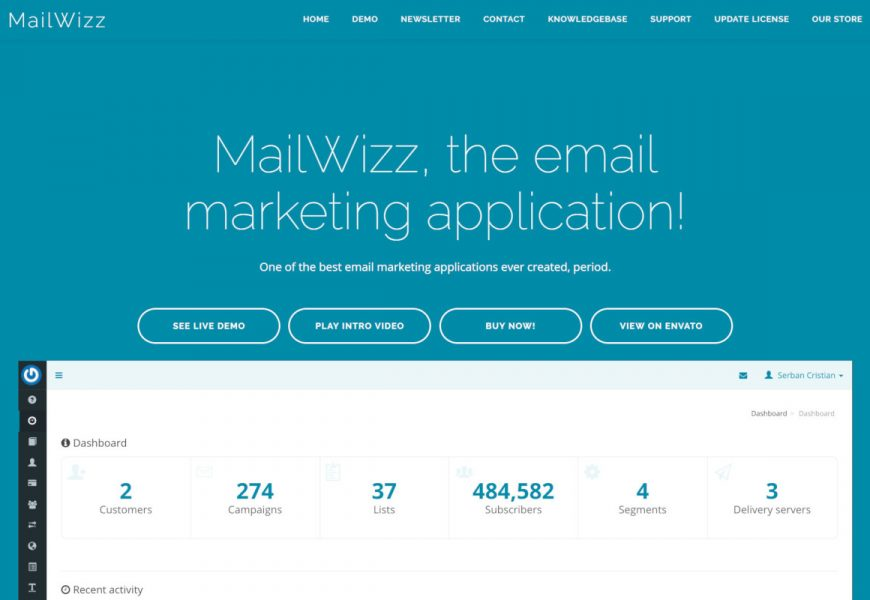 Top benefits of using MailWizz