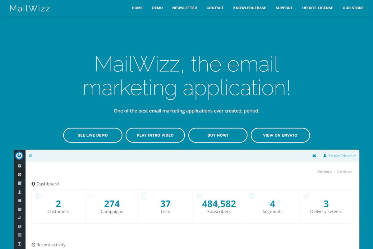 Top benefits of using MailWizz
